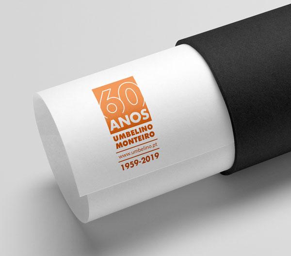 Logotipo 60 Anos Umbelino Monteiro